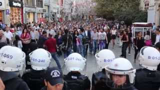 September 10, 2013 The Protests in Istanbul for the Death of Ahmet Atakan