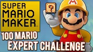 Super Mario Maker - 100 Mario Expert Challenge
