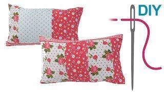 play kissenbezug mit rei verschluss in 2 versionen n hen diy. Black Bedroom Furniture Sets. Home Design Ideas