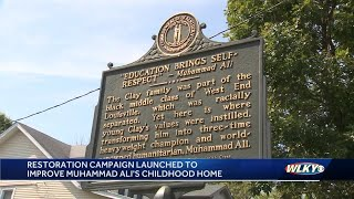 Multimillion-dollar campaign launched for Muhammad Ali's childhood Louisville home