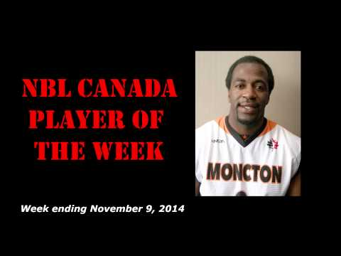 NBL Canada Names Stanley Robinson of the Moncton Miracles Player of the Week!