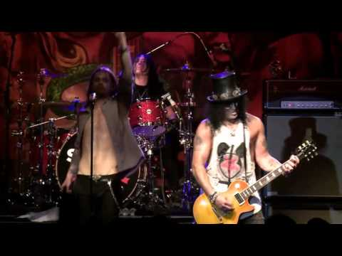 Slash Live from New York: 