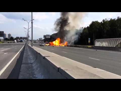 [Belarus tanker explosion] Video
