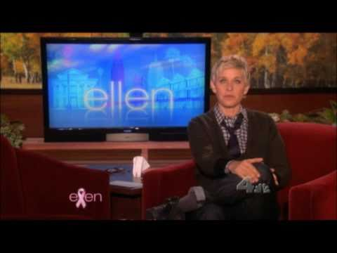 Ellen DeGeneres Show Hair Loss Celebrity  thickener fiber Solution.  Hair Cubed