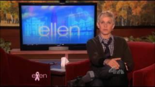 Ellen DeGeneres Show Hair Loss Celebrity thickener fiber Solution. Hair Cubed