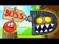ОГО КАКОЙ БОСС КРАСНЫЙ ШАР НАПАЛ НА ЗОМБИ Несносный Шарик Plants Vs Zombies Red Ball 4 Мультик mp3