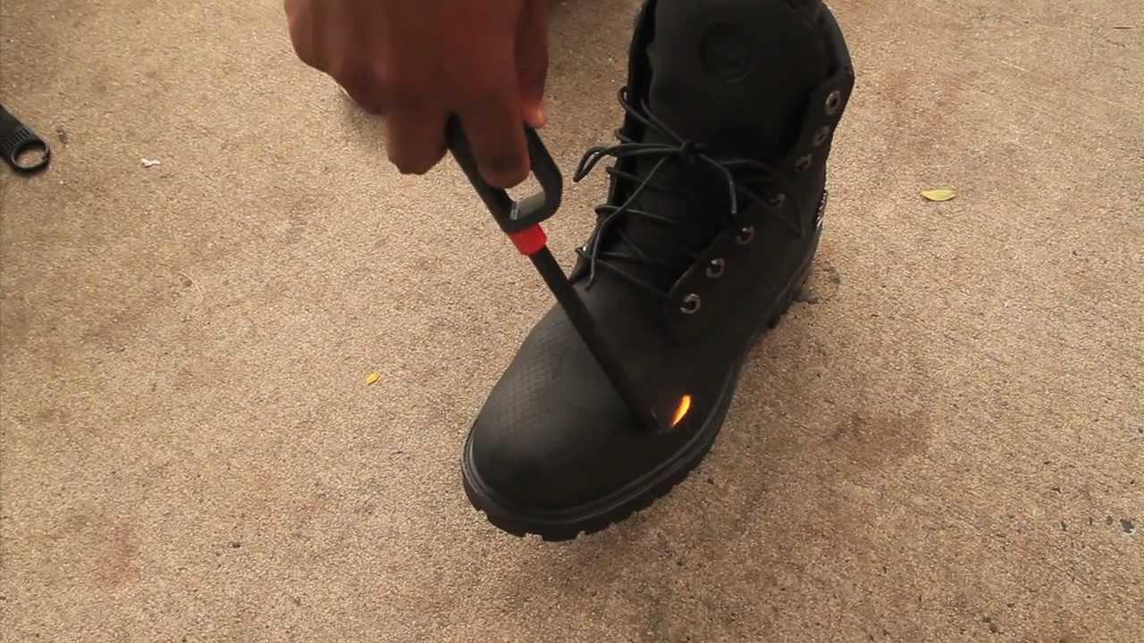 Meet Timberland S Indestructible Fireproof Boot Youtube