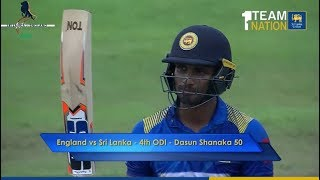 Dasun Shanaka's 66 vs England in Pallekele