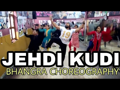 Jehdi kudi | Manak-E | bhangra choreography | Fitness workout | anew Fitness center and dance academ