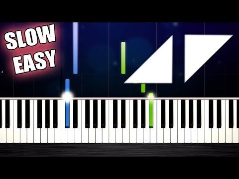 Avicii - The Nights - SLOW EASY Piano Tutorial by PlutaX