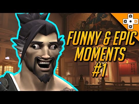 Overwatch Funny & Epic Moments #1 - Highlights Montage