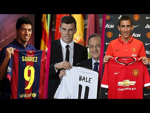 20 Most Expensive Football Player Transfers Of All Time