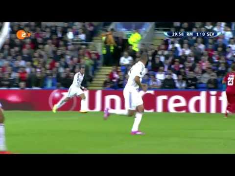 Cristiano Ronaldo Goal | Real Madrid vs Sevilla 1-0 UEFA Supercup 2014
