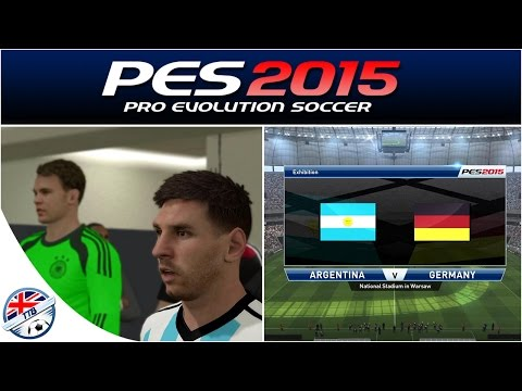 [TTB] PES 2015 - PS4 - Argentina Vs Germany - World Cup Final Relived