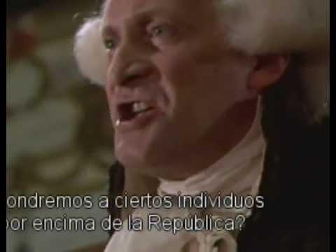 Robespierre en la Convención