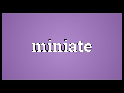 Header of miniate