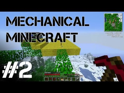 Mechanical Minecraft S2 Ep. 2 - Air Base