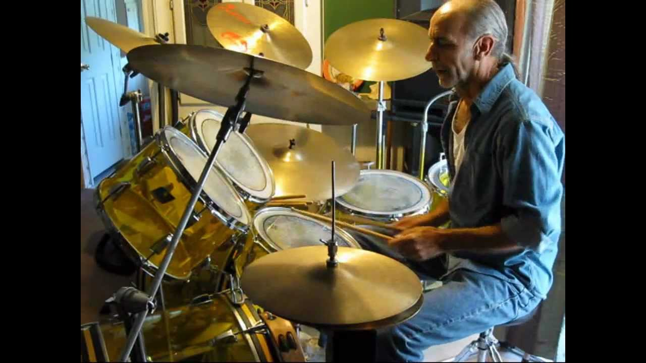 Rick Shaw's drum cover of The Doobie Brothers - Dark Eyed ...