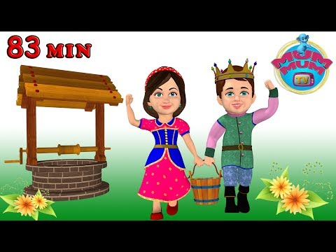 Jack and Jill Song, Humpty Dumpty, wheels on the bus & more Nursery Rhymes Songs Collection