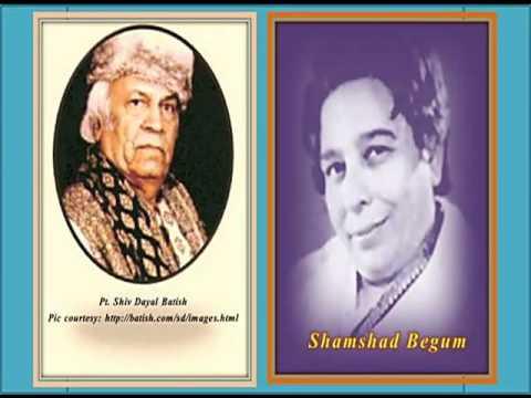 Shamshad Begum & S.d. Batish - Gulshan Mein Umeedon Ke  - Pagli (1943) video