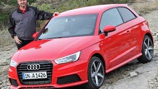 Audi A1 Facelift 2015 im Test - Fahrbericht