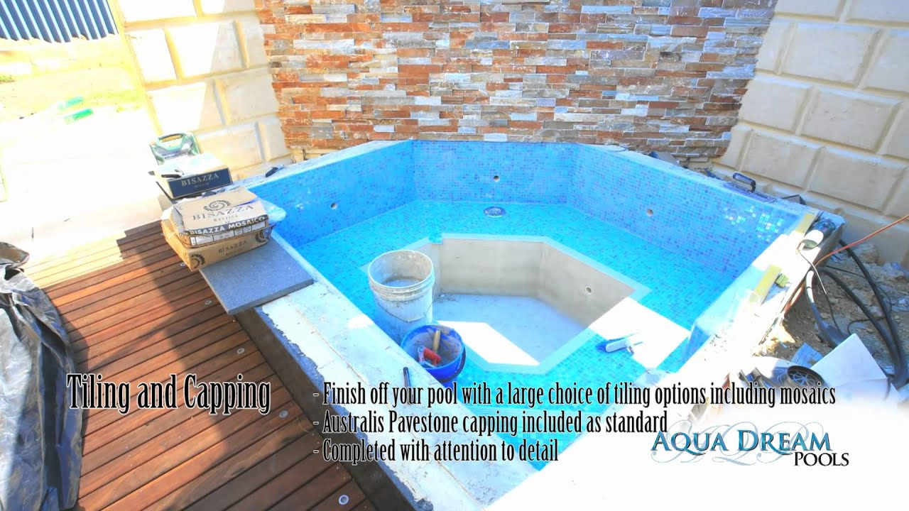 Concrete pools perth aqua dream pools the construction - What do dreams about swimming pools mean ...