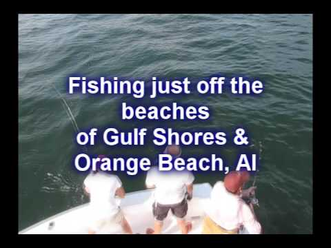 Orange Beach Fall & Winter Fishing for Bull Redfish