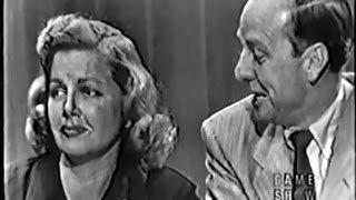 What's My Line? - Ann Sheridan (Jul 20, 1952)