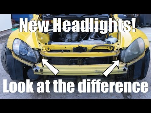 What a difference! No more dull headlights - PerformanceCars