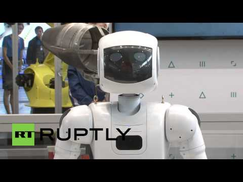 Russia: Android unveils Russia's first ISS bound humanoid robot