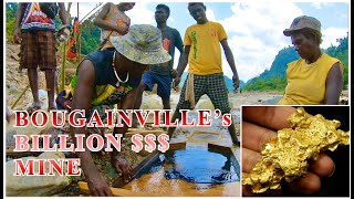 BOUGAINVILLE's BILLION $$$ GOLD FACTORY | The Panguna Mine