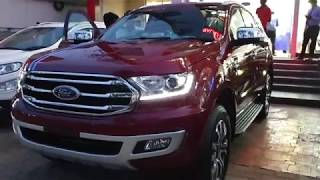 Taking Delivery of 2019 Ford Endeavour on a Pleasant Evening | Exterior & Interior