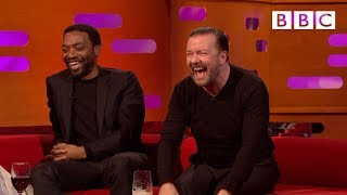 When Ricky Gervais met David Bowie! - BBC