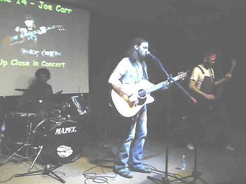 Joe Carr Band-Finally @ The Vineyard Cafe