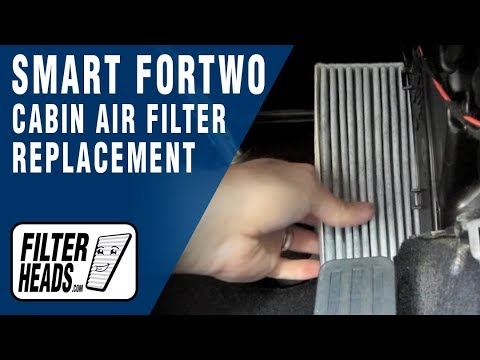 How to Replace Cabin Air Filter Smart Fortwo