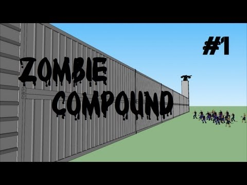Custom Zombies - Compound: Intel, Buildables, Easter Eggs, and Custom Weapons FTW! (Part 1)