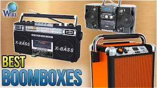 10 Best Boomboxes 2018