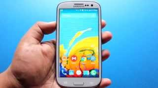 Android 5.0.2 Lollipop on Samsung Galaxy S3