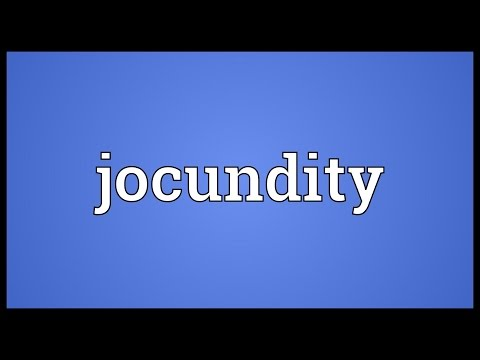 Header of jocundity