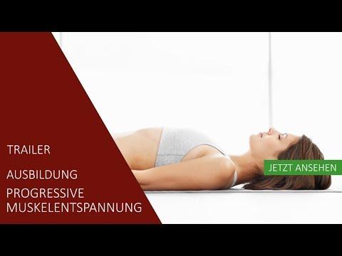Ausbildung  Progressive Muskelentspannung | Trailer | Akademie für Sport und Gesundheit