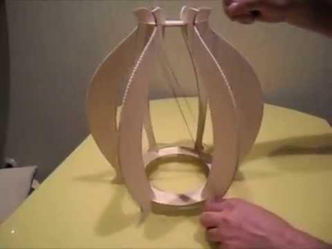 Изготовления светильника своими руками
