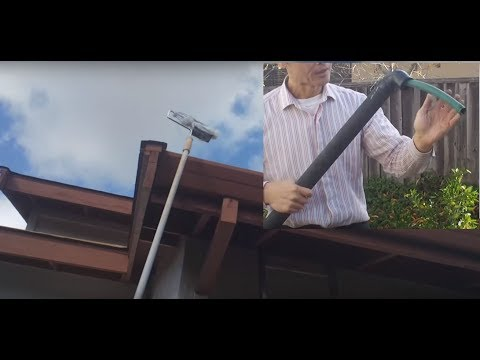 Cheap Gutter Cleaning Without Ladder