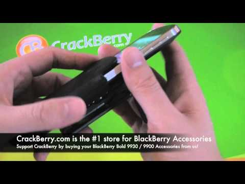 BlackBerry Bold 9930 / 9900 Leather Holster