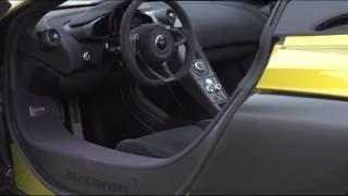 McLaren 675LT Spider - Interior Design Trailer | AutoMotoTV