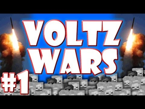 Minecraft Voltz Wars #1 Submarine Fire