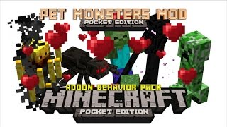 Pet Monsters Mod - Minecraft Pocket Edition Addon