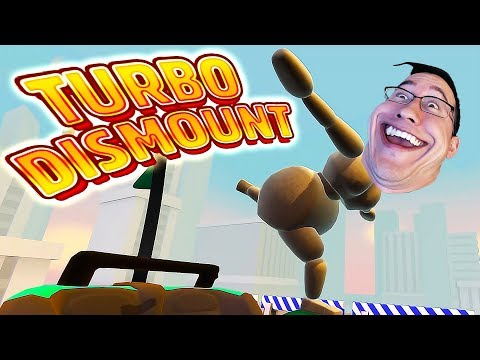 BROKE MY FUNNY BONE   Turbo Dismount Funny Moments #19