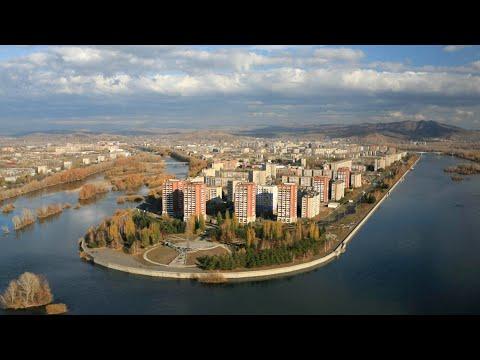 Усть-Каменогорск. Вид с самолета.