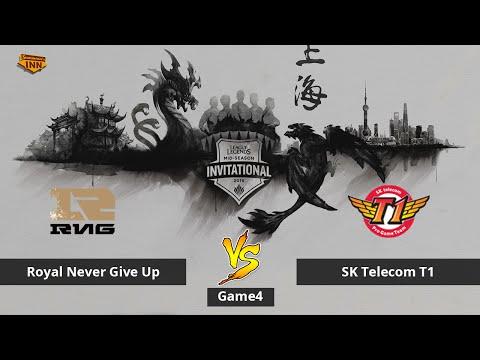 Royal Never Give Up vs. SK Telecom T1   Halbfinale, Mid-Season Invitational 2016   Game 4