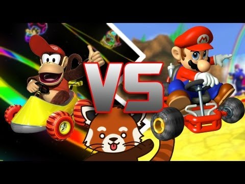 Mario Kart 64 VS. Diddy Kong Racing - Red Panda Review